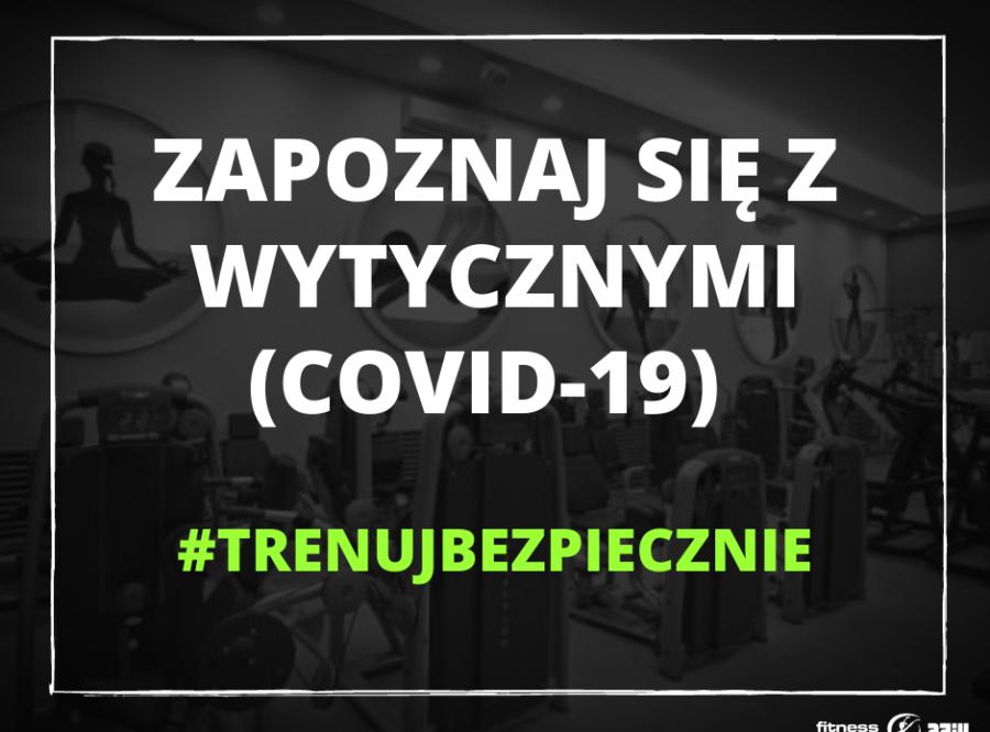REGULAMIN BEZPIECZNEGO KORZYSTANIA Z KLUBU W ZWIĄZKU Z COVID-19.
